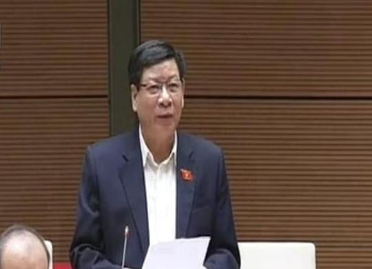 ĐB Phạm Văn Cường (Lào Cai) truy vấn Bộ trưởng về trách nhiệm trong công tác phòng chống buôn lậu