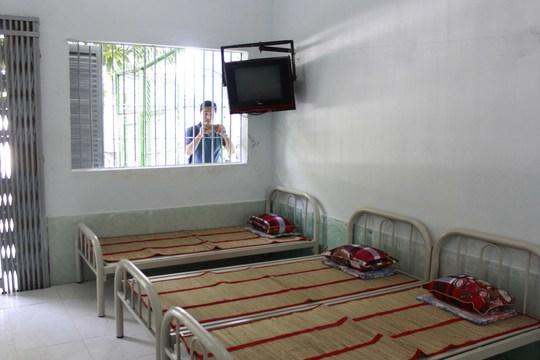 Phòng ở được trang bị ti vi