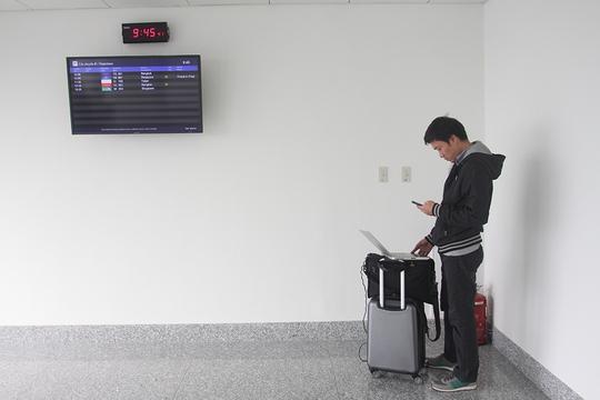 Hành khách cũng có không gian riêng để truy cập internet