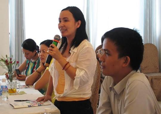 Các đại biểu phát biểu ý kiến tại hội thảo