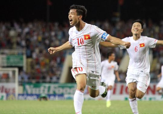 Công Phượng và Tuấn Anh (ảnh dưới) sẽ chia tay U19 Việt Nam