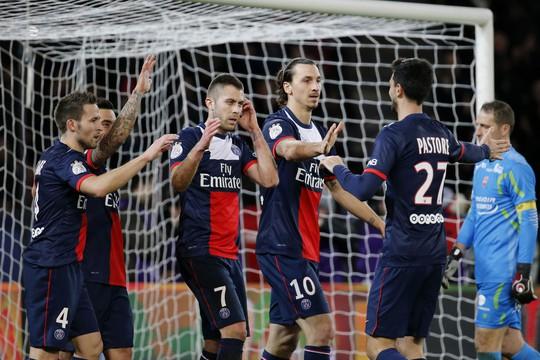 PSG là đội bóng đầu tiên gần như chắc chắn giành vé vào tứ kết