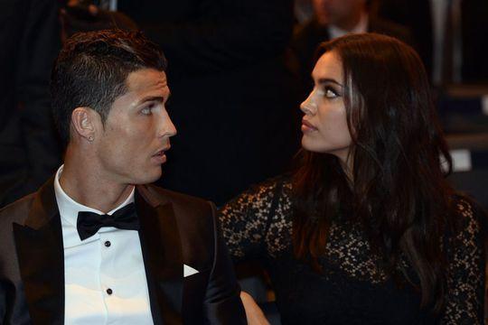 Ronaldo và bạn gái Irina Shayk