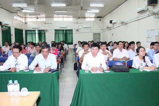 Quang cảnh lễ khai giảng lớp Đại học phần Công đoàn