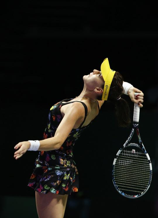 Radwanska dễ dàng đánh bại Kvitova