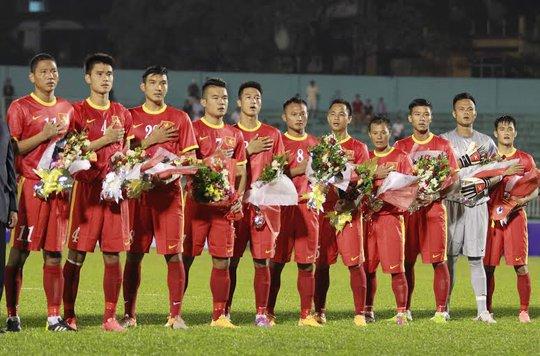 Đội hình ra sân của tuyển Việt Nam
