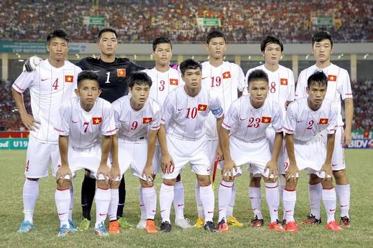 Đội hình xuất phát của U19 Việt Nam