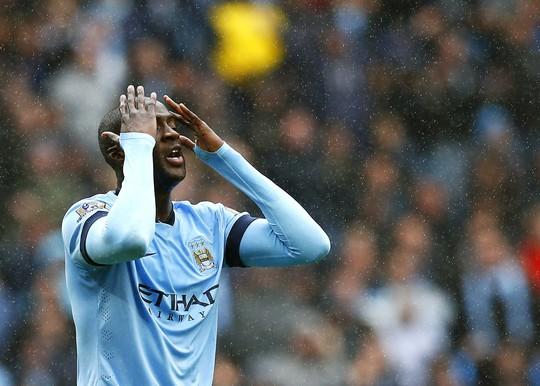 Toure thất vọng trước quyết định của trọng tài