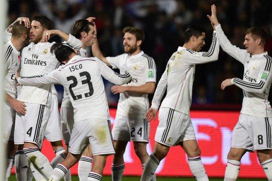 Dàn sao của Real Madrid trong trận thắng Cruz Azul