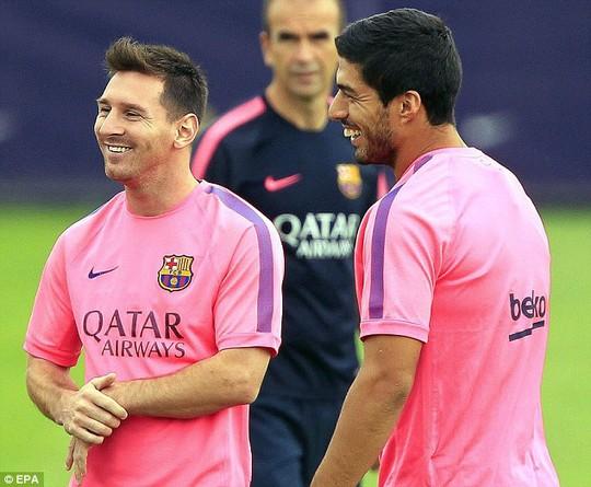 Suarez và Messi