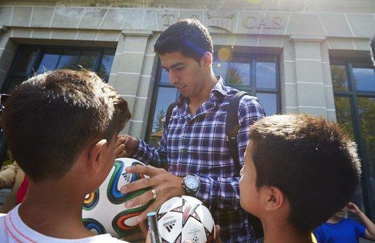 Suarez trước Tòa án trọng tài thể thao hôm 9-8.