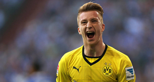 Tiền đạo Marco Reus của Dortmund