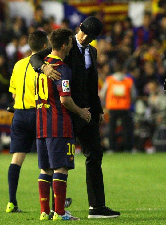Hình ảnh đẹp của Ronaldo vào cuối trận