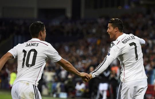 Cả Rodriguez và Ronaldo đều có vấn đề về sức khỏe