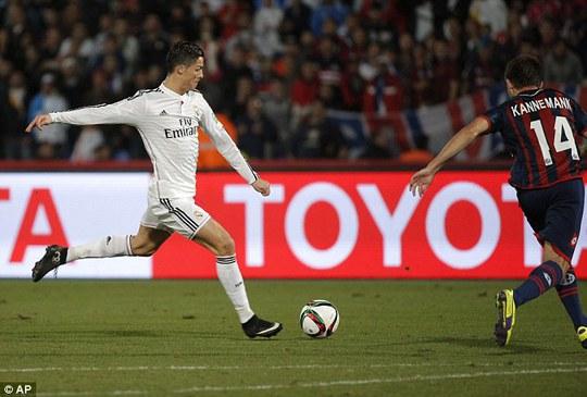 Năm 2014, đánh đấu thành công rực rỡ trong sự nghiệp của Ronaldo