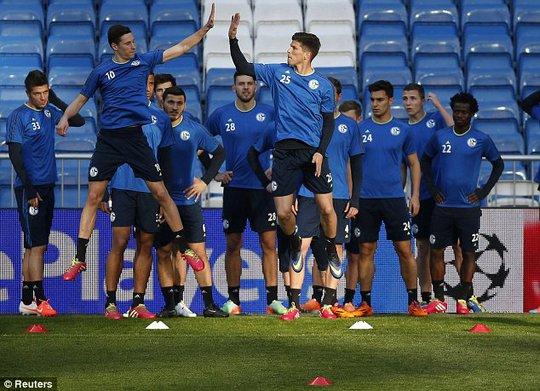 Sẽ có một trận đấu thoải mái cho các cầu thủ Schalke