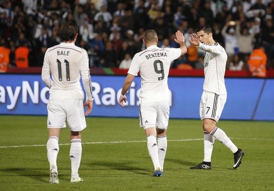 Bộ ba ghi bàn nhiều nhất trong năm 2014 của Real Madrid