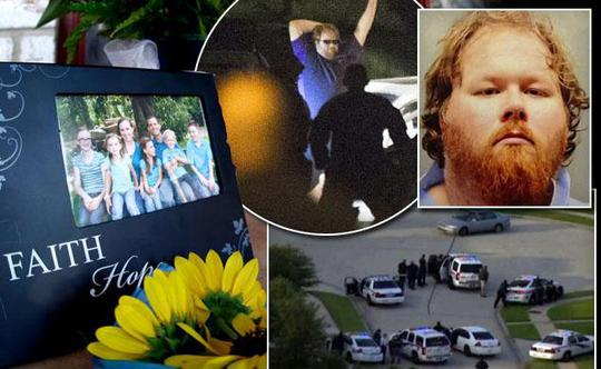 Kẻ sát hại 6 thành viên gia đình. Ảnh: New York Daily News