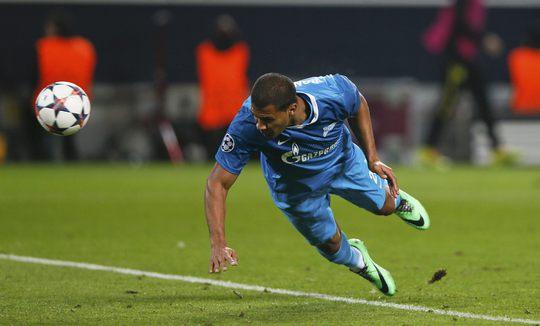 Bàn thắng nâng tỉ số 2-1 của Rondon không đủ giúp Zenit tạo nên cuộc lội ngược dòng trên sân Dortmund