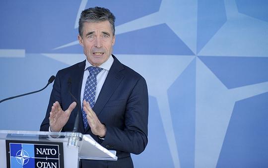 Tổng thư ký NATO Anders Fogh Rasmussen. Ảnh: Reuters