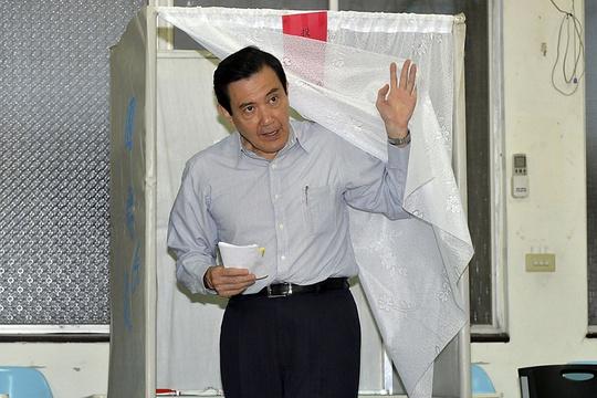 Ông Mã Anh Cửu sẽ từ chức Chủ tịch Quốc Dân Đảng Đài Loan. Ảnh: Reuters