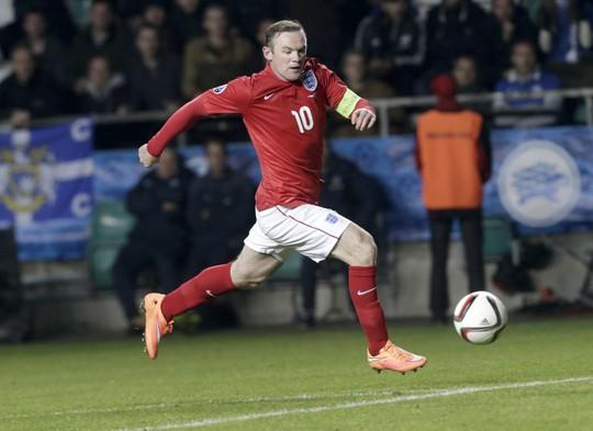 Tiền đạo Rooney của M.U rất có duyên ghi bàn vào lưới Man City
