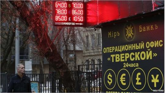 Nga lên kế hoạch mới cứu đồng rúp