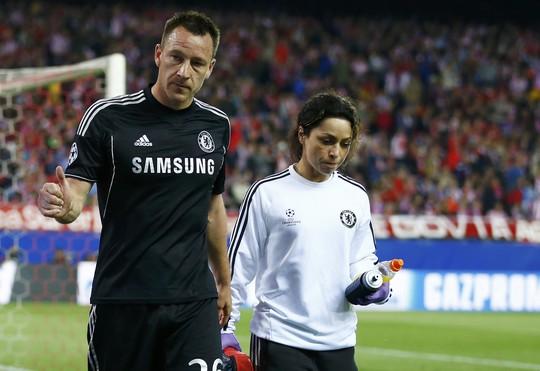Terry chắn chắn sẽ ngồi ngoài vì chấn thương