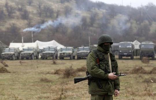 Ukraine triển khai quân sự chuẩn bị tập trận lớn