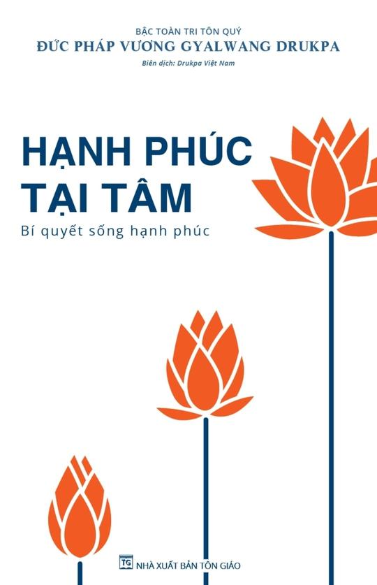 Cuốn sách Hạnh phúc tại tâm xuất bản tháng 12-2014