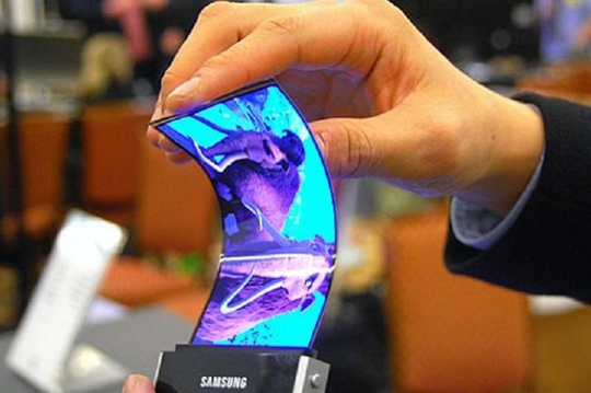 Graphene, giúp màn hình Samsung uốn cong theo ý muốn