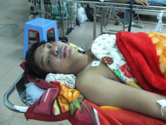 Sức khỏe nạn nhân vụ sập kho đông lạnh đang hồi phục. Ảnh: Nguyễn Huynh