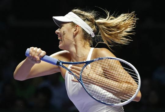Búp bê Nga cần một chiến sau thất bại ở trận mở màn trước Wozniacki