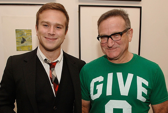 Robin Williams và Zak