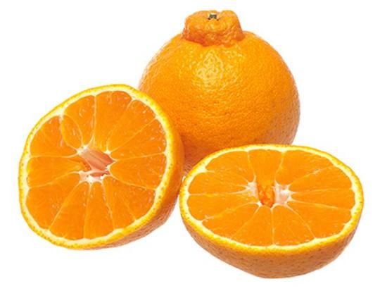 Cam lồi nguồn gốc Nhật Bản được lai tạo từ cam ngọt và quýt đường, đặc trưng là núm lồi cao, vỏ vàng sậm và ruột có vị ngọt đậm. Mỗi trái cam lồi được bán trên thị trường khoảng 79 USD.