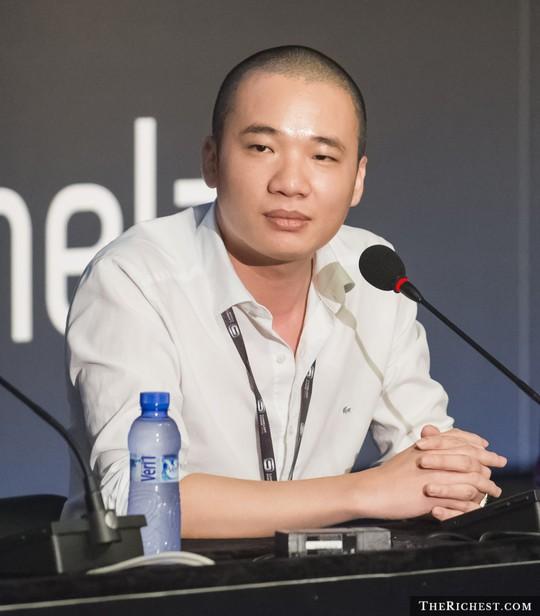 Hà Đông được xếp thứ 9 trong số 10 người làm giàu trong môi trường Internet từ con số 0. Ảnh: TheRichest.com