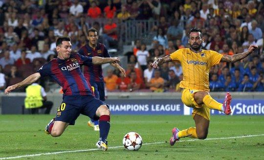 Messi sẽ tiếp tục nổ súng cho Barcelona trước Malaga?