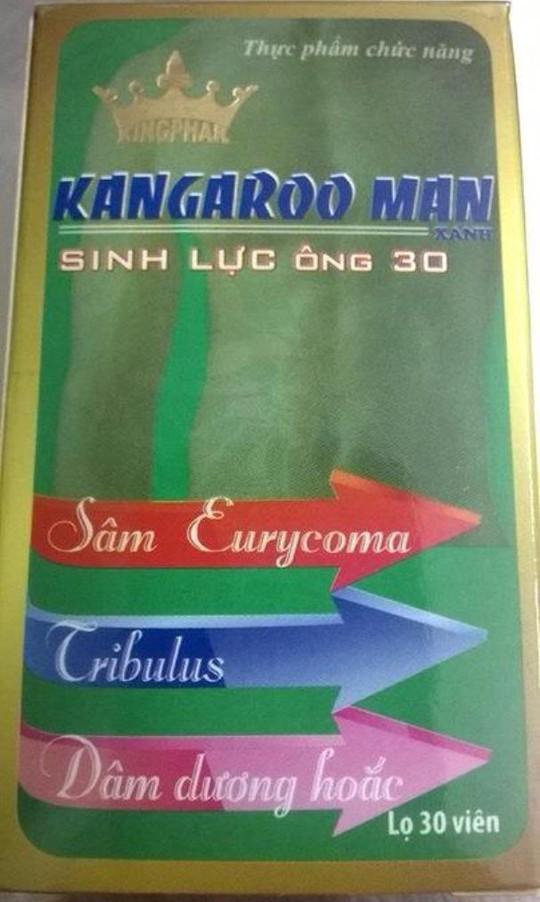 Sản phẩm Kangarooman Xanh của Công ty Cổ phần Kingphar Việt Nam