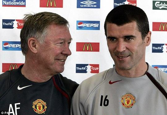 Cựu HLV Ferguson và Roy Keane