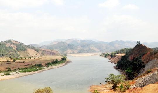 Suối Bo chảy qua xã Gia Phú (Bảo Thắng)
