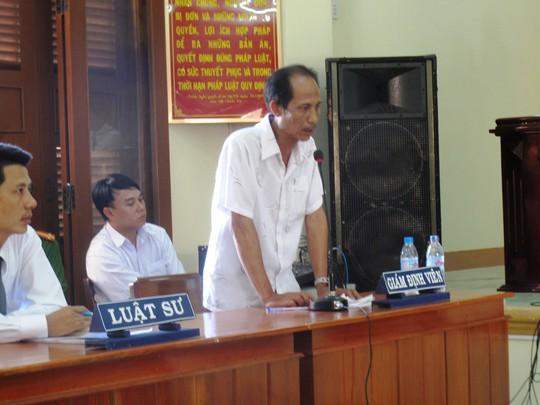 Giám định viên Hoàng Việt thừa nhận một số mẫu bị hư khi gửi đi giám định