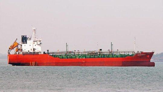 Tàu Sunrise 689 trước khi bị cướp. Ảnh do chủ tàu cung cấp