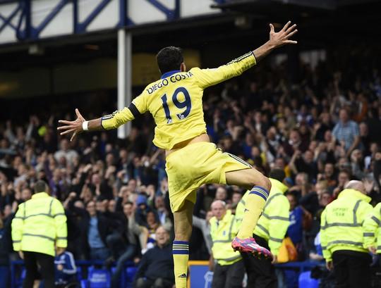 Tiền đạo Costa, cầu thủ đến Chelsea nhờ vào cò Mendes