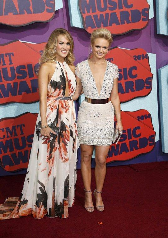 Carrie Underwood và Miranda Lambert