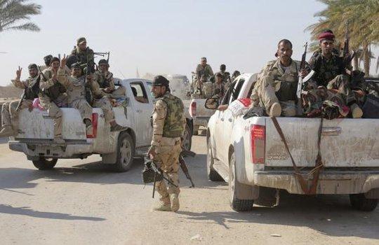Lực lượng an ninh Iraq và người Shiit