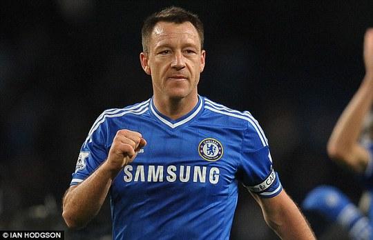 John Terry đã đóng góp nhiều cho thành công của Chelsea