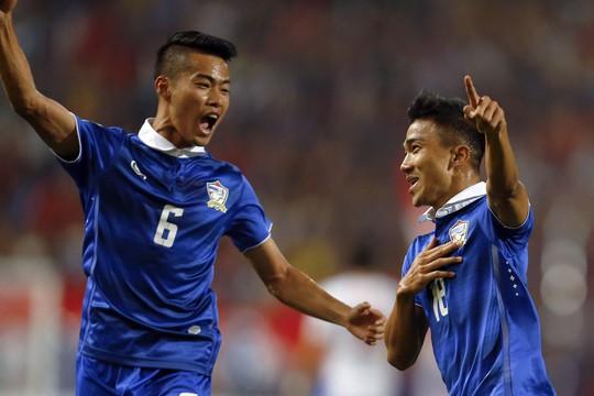 Thái Lan từng thắng Malaysia ở vòng bảng