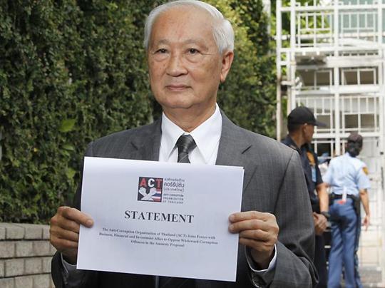 Ông Pramon Sutivong. Ảnh: Bangkok Post