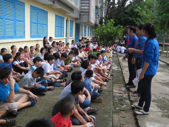 con CNVC-LĐ dự Trại hè Thanh Đa năm 2013