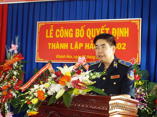 Thiếu tướng Nguyễn Văn Tương phát biểu chỉ đạo
